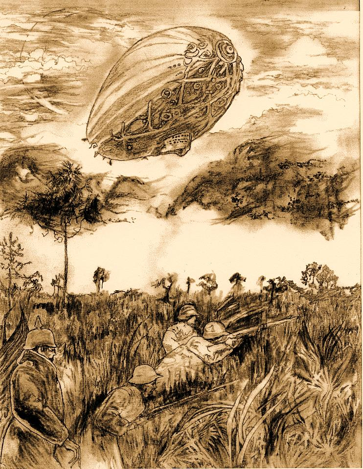 Mag Czar- Zeppelin over Everglades